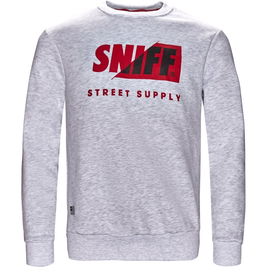 CALGARY - Calgary - Sweatshirts - Regular - WHITE MEL - 1